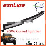 High power 300W curved led light bar Light point new design light bar for offroad trucks special vehicle