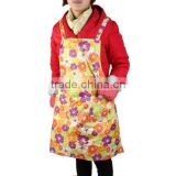 PVC Nylon Waterproof Cooking Apron for women