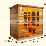 Best selling far infrared home sauna for weight loss slimming with low emf carbon heaters
