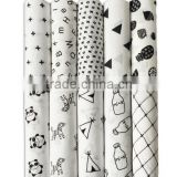 wholesale custom bamboo cotton swaddle blanket, baby swaddle muslin