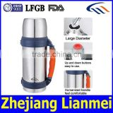 yongkang factory plastic button thermos vacuum flask