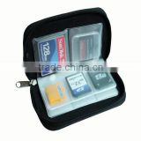 Good design memory card cases / CF/SD/SDHC/MS/DS Micro Storage Carrying Pouch Wallet Bag