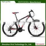 "cheap factory price alloy frame 6061 bicycle mountain bike 26"" and 27.5"" wheelset size"