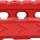 1500MM length Plastic Water Filled Road Barrier for Traffic