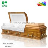American style high quality cremation cheap casket wood