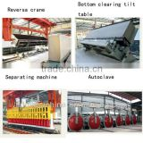 good concrete brick production line White blocks and panels light weight block making machine aac