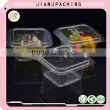 Small Liter 250 ml ice cream packaging container , plastic ice cream packing tray