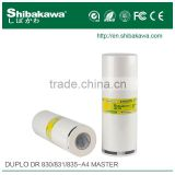 Serious supplier duplo ink master roll for DR series machine