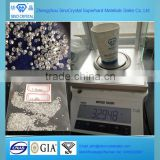 Sino-crystal 2.5-3.0mm white rough HPHT CVD diamond gem