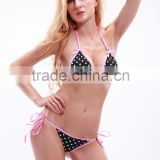 Hot Selling !manufactory cheap price bikini girls bandeau bikini tops sexy bikini for girls