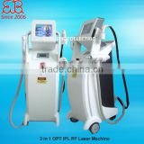 Bikini Hair Removal Multifunction Pro E-light + IPL + RF + Laser Tattoo Removal Painless
