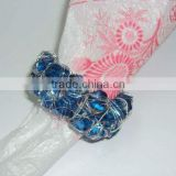 Napkin Ring Glass Beaded