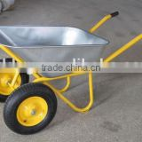 WB6432 wheel barrow gardening trolley gardending tool van Garden steel rolling trolley tool cart