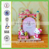 factory custom-made high quality resin photo frame of souvenir for birth of baby