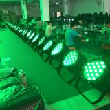 DMX512 Signal Waterproof 54X3w Stage Can Light IP Rate65 LED Par Light