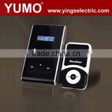 YUMO YMG-100 117 channel light weight sets inbuilt battery sleek set ATG-100 Wireless Tour Guide System