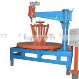 Tire bead ring cutting macine