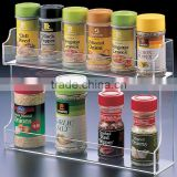 High Quality Custom Transparent kitchen Table Condiment Holder/Condiment Holder