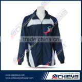 2015 New design sportswear manufacture school uniform soccer jacket cheap tracksuit factory