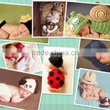 2016 unique animal shape design knitting wool clothes photo props newborn baby photography props