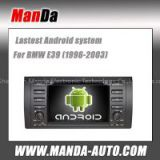 android 4.4 car multimedia for BMW E39 E53 M5 wifi 3g car stereos audio gps navigation auto parts