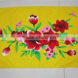 soft microfiber reactive printed 100% polyester beach towel