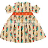 New Arrival Children Frock Designs Toddlers Girls Sweet Dress From China Girls Feather Dress Names With Pictures