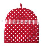 dotted cotton tea cosy beautiful heat preservation tea pot cover