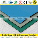 Blue ESD mat, With 2 layer dull or shiny anti-static mat