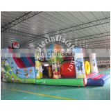 2017 Aier playground inflatable slides for sale/commercial inflatable used playground slide