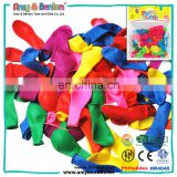 Colorful summer outdoor game magic water balloons bunch