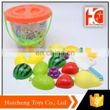 export hot toy children indoor games fruit set pretend play toy food for kids