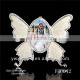 New Pruduct 2014 wholesale photo frame, beautiful photo frames, butterfly shape photo frame