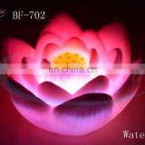 electric large Water Cotton water floating led candles