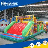 Best quality large outdoor inflatable obstacle course, inflatable wipeout obstacle for sale