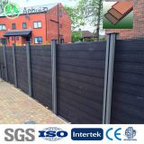 factory direct prefab wood plastic compoiste wpc fencing and gates