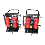 high viscosity portable lubricating oil filter machine