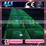 ACS Professional New design waterproof 3D mirror LED Dance Floor for sale
