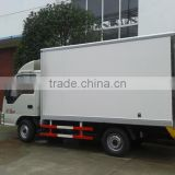 2015 china new JAC small refrigerated truck,4x2 food cold rooms