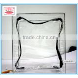 OEM / Processing accepted bedding plastic bags with clear tote handle
