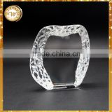 Excellent quality best selling raw crystal glass block for wholesale
