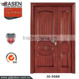 New sound proof interior modern wood door designs hotel wood room door in double wood doors