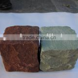 sandstone curbstone paving