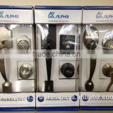 Japanese high quality and security beautiful tubular knob. ALPHA corporation