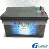 yellow top car battery 12v 200ah 190H52-mf / N200-MF sealed lead acid tractor/tannk sla battery