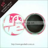 2014 hot selling wholesale promotion folding lovely makeup mirror