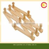 New design eco-friendly folding bamboo clothes hanger or rack                                                                         Quality Choice