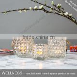 hotsale different shaped glass candle jars holder                                                                                                         Supplier's Choice