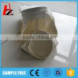 Needle punched non-woven aramid felt dust collector filter bag