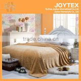 2014 hot super soft solid color flannel fleece with carving mora blanket spain